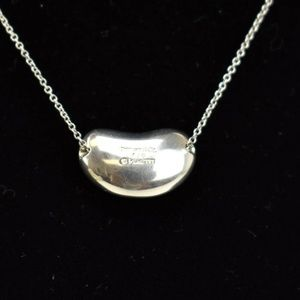 TIFFANY Sterling Silver Grande Bean Necklace (um)